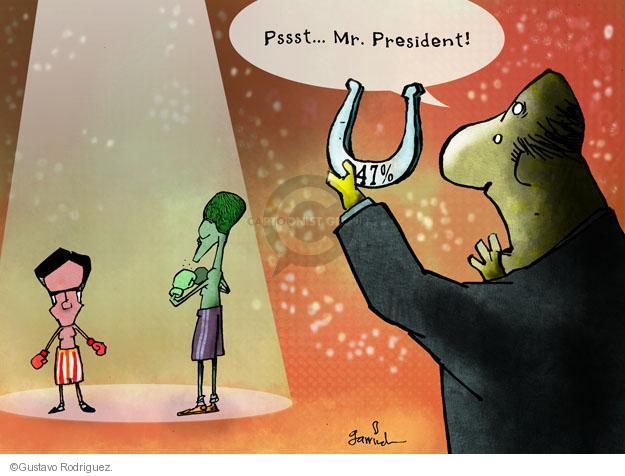 Gustavo Rodriguez  Garrincha's Editorial Cartoons 2012-10-04 2012