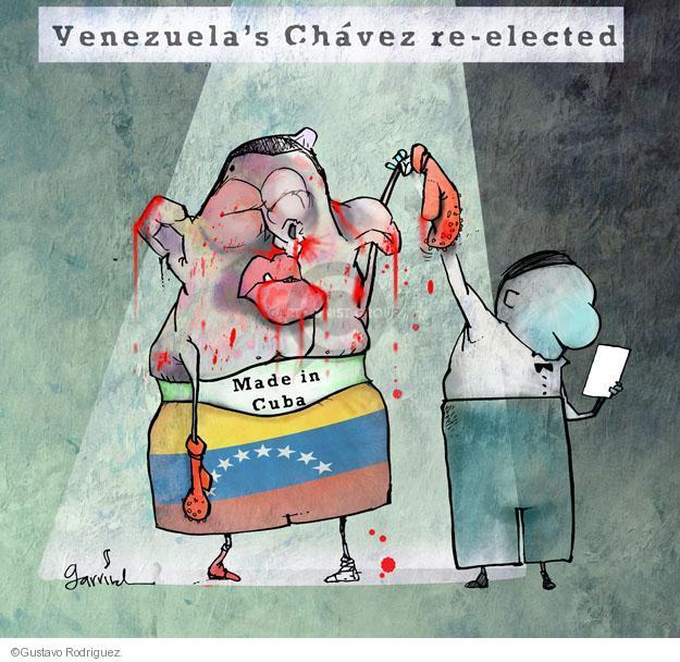 Gustavo Rodriguez  Garrincha's Editorial Cartoons 2012-10-08 vote