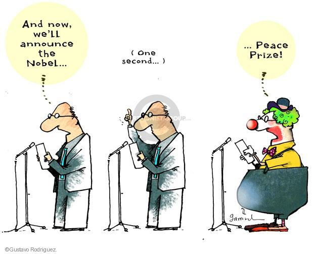 Gustavo Rodriguez  Garrincha's Editorial Cartoons 2012-10-15 peace