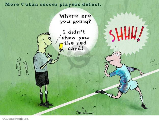 Gustavo Rodriguez  Garrincha's Editorial Cartoons 2012-10-15 card