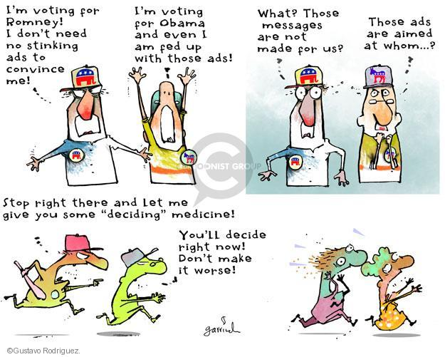 Gustavo Rodriguez  Garrincha's Editorial Cartoons 2012-10-29 vote