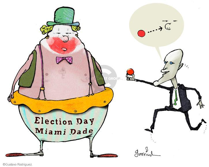 Cartoonist Gustavo Rodriguez  Garrincha's Editorial Cartoons 2012-11-09 Florida