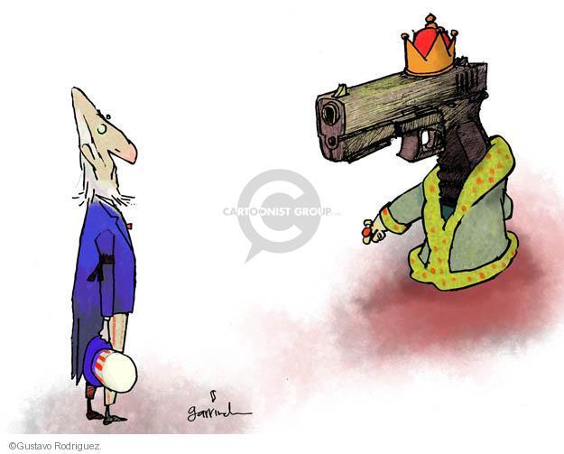 Cartoonist Gustavo Rodriguez  Garrincha's Editorial Cartoons 2012-12-14 rights
