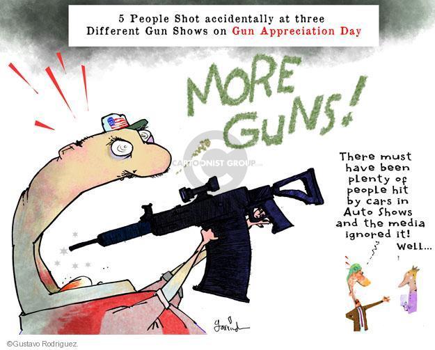 Cartoonist Gustavo Rodriguez  Garrincha's Editorial Cartoons 2013-01-23 arms