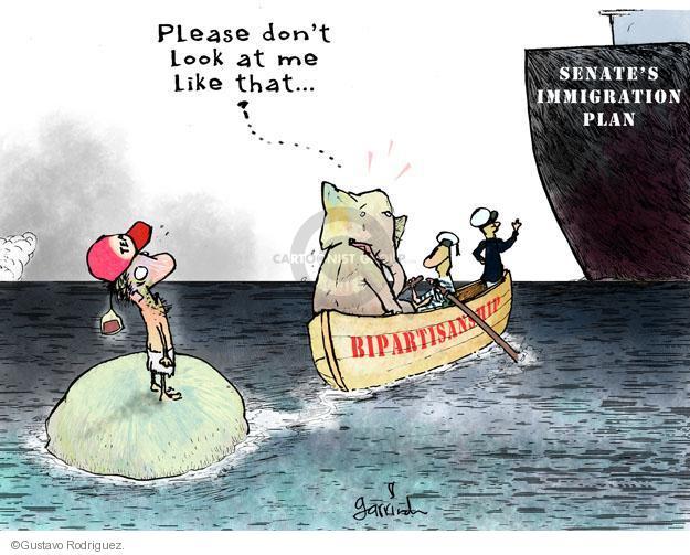 Gustavo Rodriguez  Garrincha's Editorial Cartoons 2013-02-01 republican party