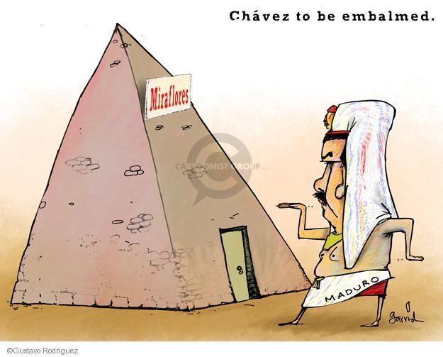 Gustavo Rodriguez  Garrincha's Editorial Cartoons 2013-03-08 pyramid