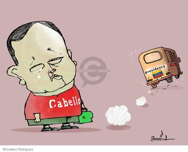 Gustavo Rodriguez  Garrincha's Editorial Cartoons 2013-03-11 chief