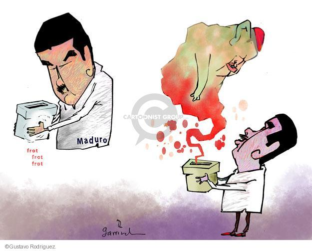 Gustavo Rodriguez  Garrincha's Editorial Cartoons 2013-03-11 vice president