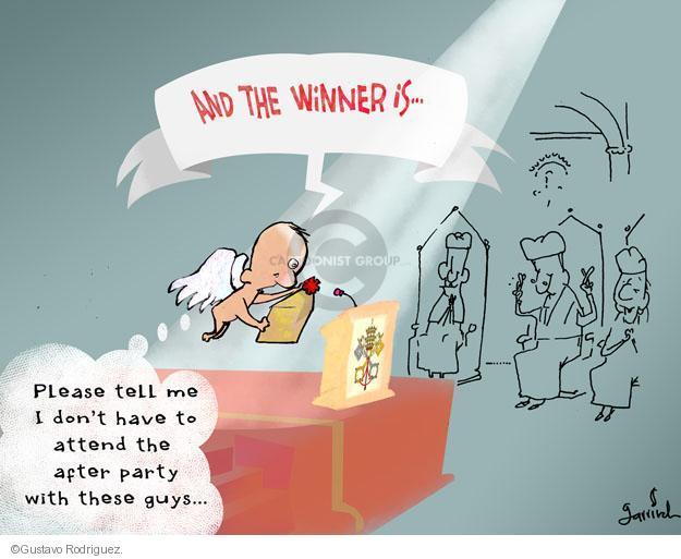 Gustavo Rodriguez  Garrincha's Editorial Cartoons 2013-03-12 cardinal