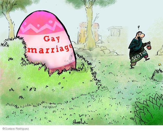 Gustavo Rodriguez  Garrincha's Editorial Cartoons 2013-03-28 supreme court justice