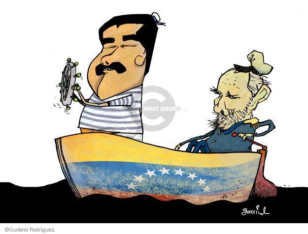 Gustavo Rodriguez  Garrincha's Editorial Cartoons 2013-04-02 Fidel Castro