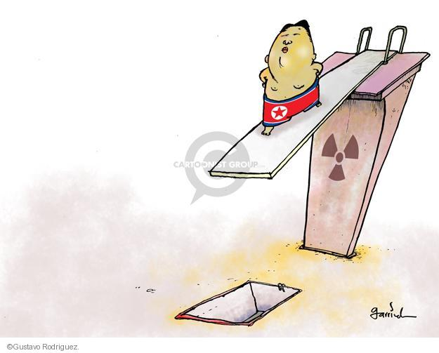 Gustavo Rodriguez  Garrincha's Editorial Cartoons 2013-04-02 Korea