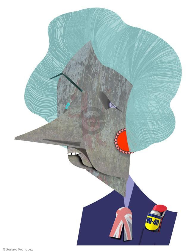 Gustavo Rodriguez  Garrincha's Editorial Cartoons 2013-04-08 illustration