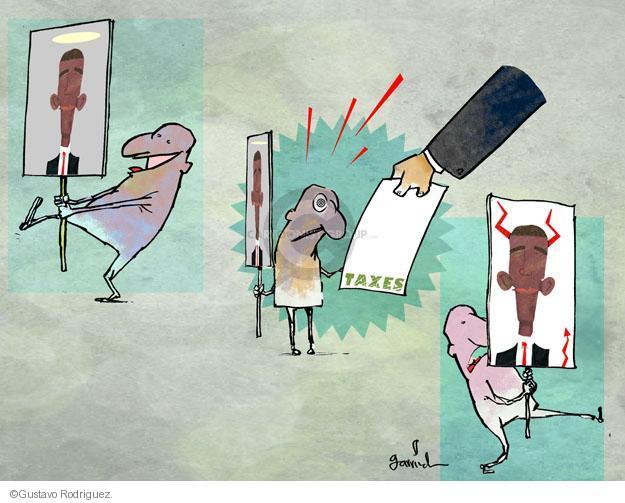 Gustavo Rodriguez  Garrincha's Editorial Cartoons 2013-04-08 carry