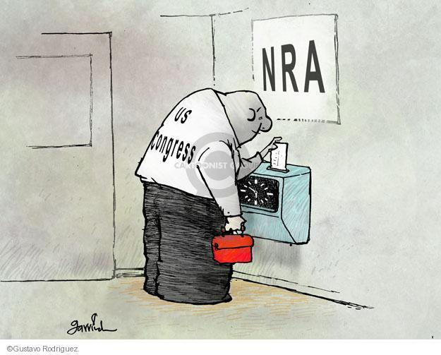 Cartoonist Gustavo Rodriguez  Garrincha's Editorial Cartoons 2013-04-18 arms
