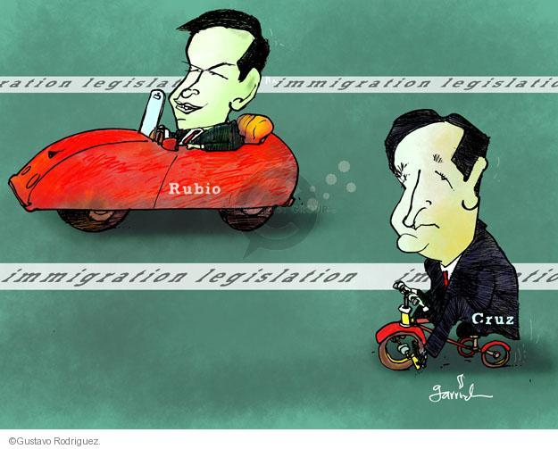 Gustavo Rodriguez  Garrincha's Editorial Cartoons 2013-04-22 party