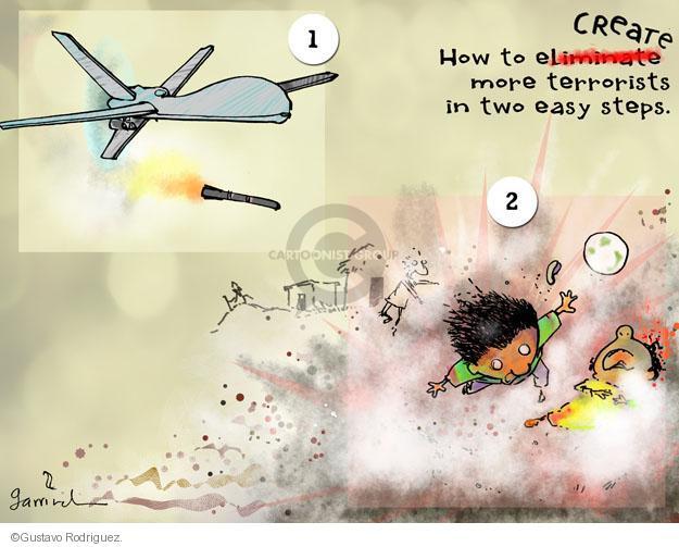 Gustavo Rodriguez  Garrincha's Editorial Cartoons 2013-04-25 force