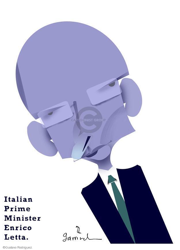 Italian Prime Minister Enrico Letta.