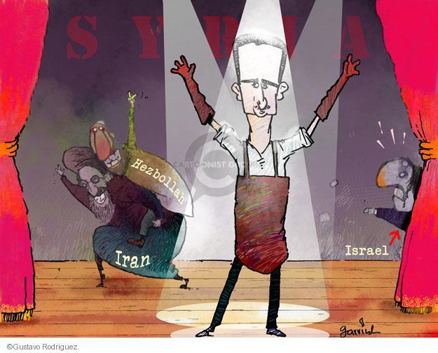 Gustavo Rodriguez  Garrincha's Editorial Cartoons 2013-05-06 Iran