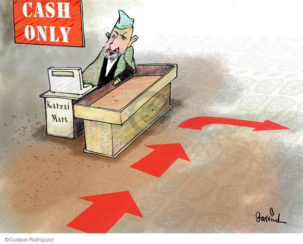 Gustavo Rodriguez  Garrincha's Editorial Cartoons 2013-05-09 cash