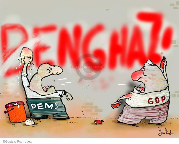 Gustavo Rodriguez  Garrincha's Editorial Cartoons 2013-05-10 painting