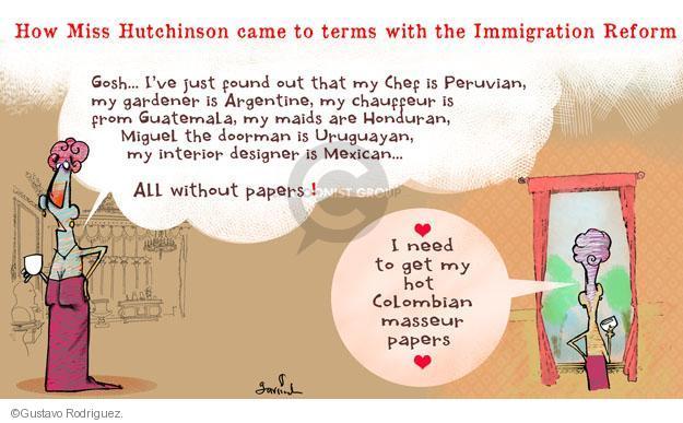 Gustavo Rodriguez  Garrincha's Editorial Cartoons 2013-05-20 immigration