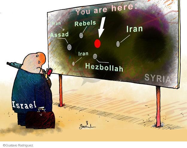 Gustavo Rodriguez  Garrincha's Editorial Cartoons 2013-05-21 Iran