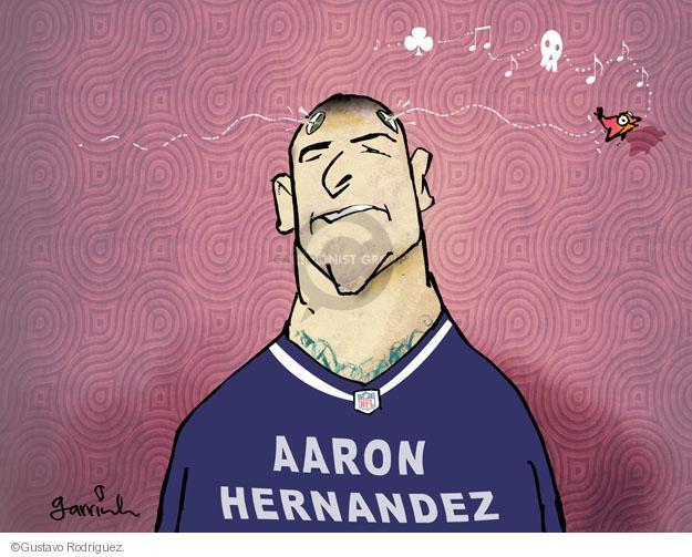 Cartoonist Gustavo Rodriguez  Garrincha's Editorial Cartoons 2013-06-28 shooting