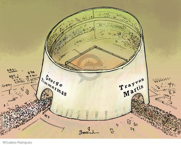 Cartoonist Gustavo Rodriguez  Garrincha's Editorial Cartoons 2013-07-09 shooting