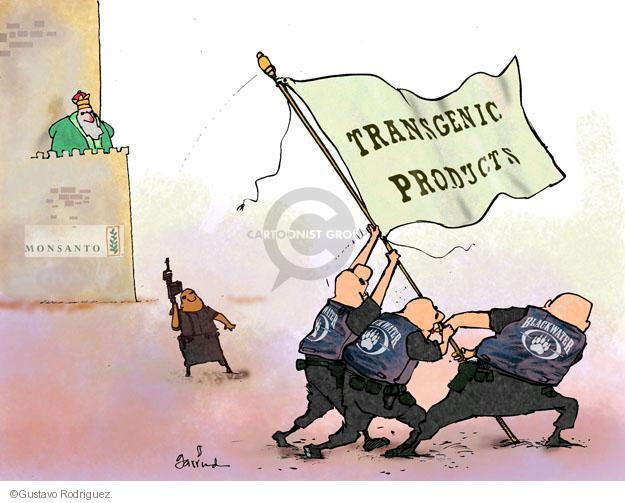 Cartoonist Gustavo Rodriguez  Garrincha's Editorial Cartoons 2013-07-26 GMO