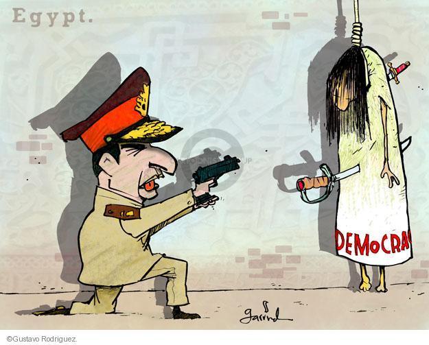 Gustavo Rodriguez  Garrincha's Editorial Cartoons 2013-08-15 soldier