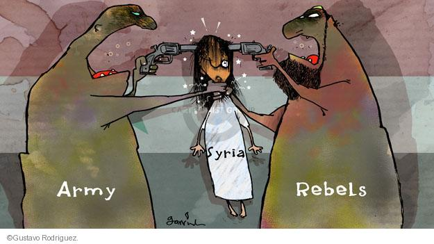 Cartoonist Gustavo Rodriguez  Garrincha's Editorial Cartoons 2013-08-24 mass