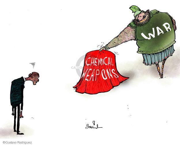 Gustavo Rodriguez  Garrincha's Editorial Cartoons 2013-08-27 chemical