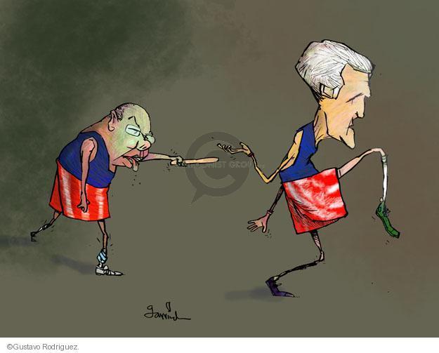 Gustavo Rodriguez  Garrincha's Editorial Cartoons 2013-09-02 Secretary of State
