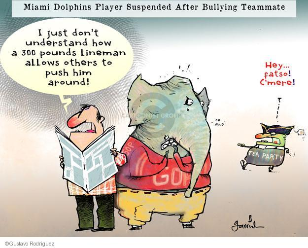 Gustavo Rodriguez  Garrincha's Editorial Cartoons 2013-11-05 GOP