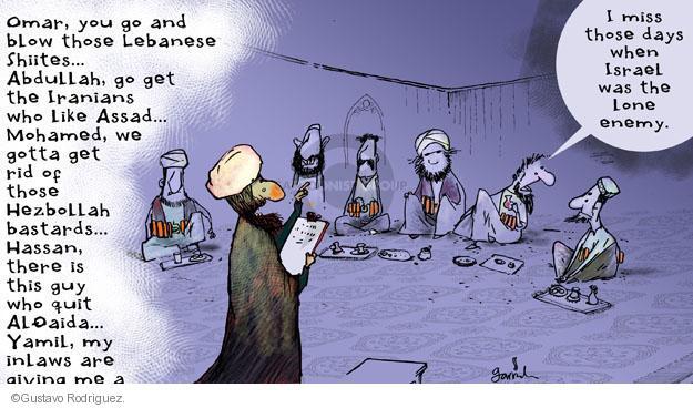 Gustavo Rodriguez  Garrincha's Editorial Cartoons 2013-11-19 Lebanon