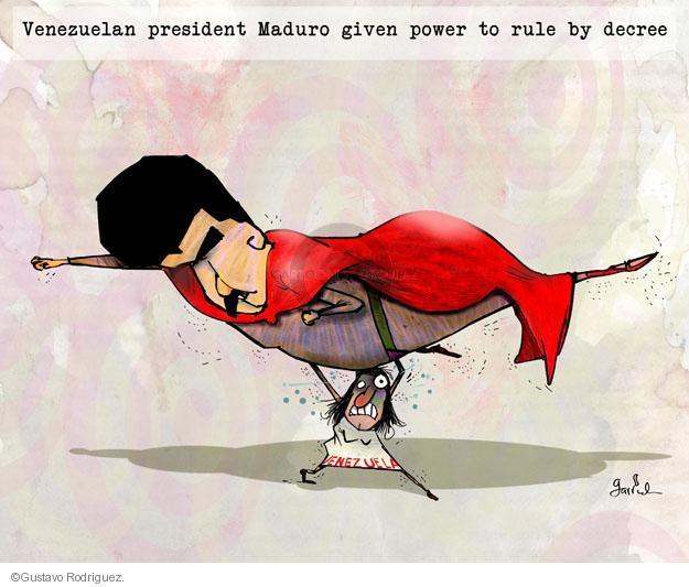 Gustavo Rodriguez  Garrincha's Editorial Cartoons 2013-11-24 authority
