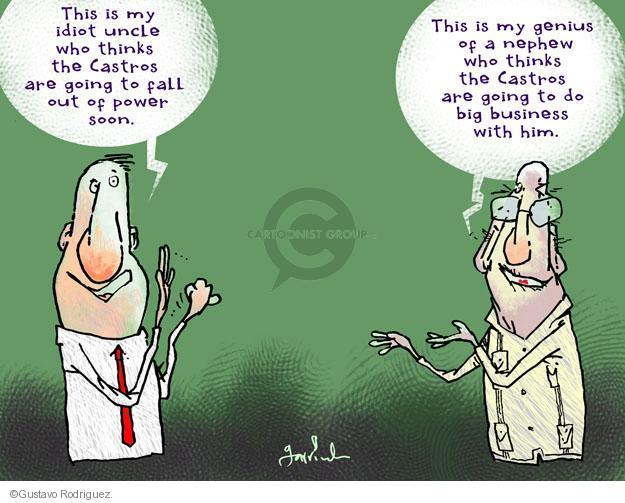 Gustavo Rodriguez  Garrincha's Editorial Cartoons 2013-11-24 negotiation