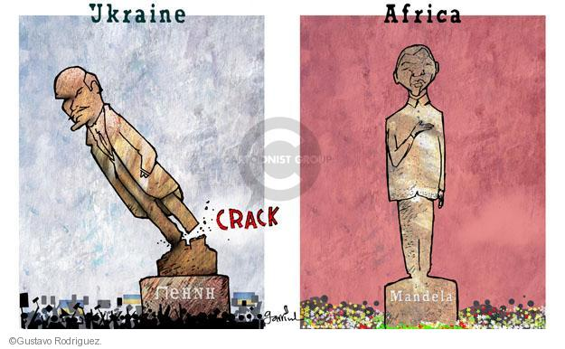 Gustavo Rodriguez  Garrincha's Editorial Cartoons 2013-12-10 human