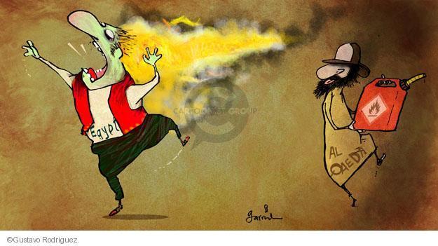 Gustavo Rodriguez  Garrincha's Editorial Cartoons 2014-01-27 violence