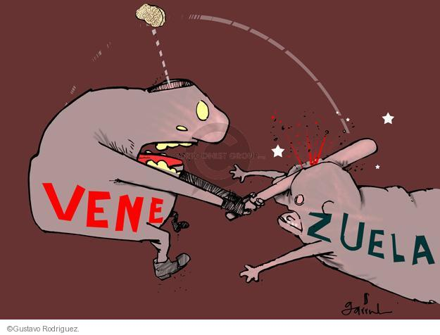 Gustavo Rodriguez  Garrincha's Editorial Cartoons 2014-02-13 anti-government