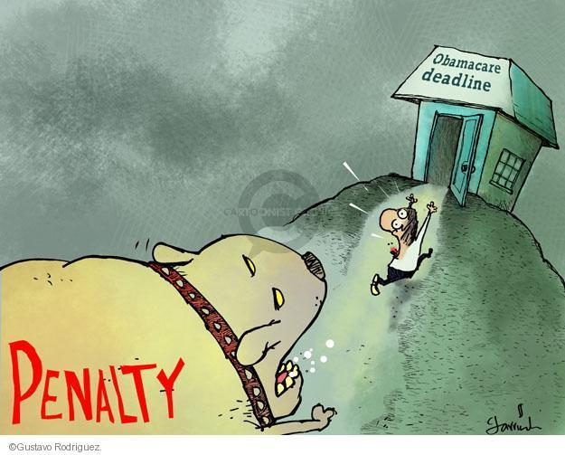 Penalty. Obamacare deadline.