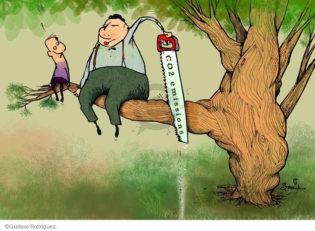 Gustavo Rodriguez  Garrincha's Editorial Cartoons 2014-03-31 environment