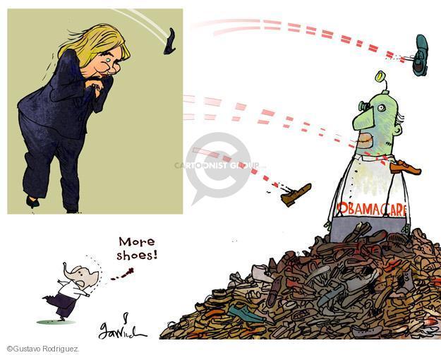 Gustavo Rodriguez  Garrincha's Editorial Cartoons 2014-04-14 Secretary of State