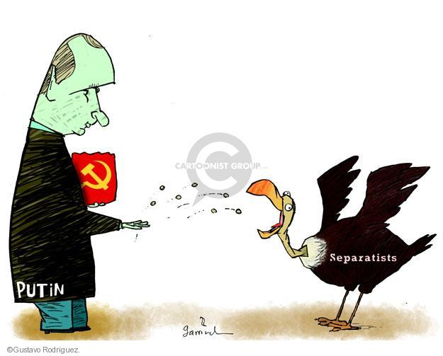 Gustavo Rodriguez  Garrincha's Editorial Cartoons 2014-04-18 Crimean