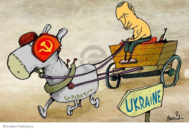 Gustavo Rodriguez  Garrincha's Editorial Cartoons 2014-04-21 Crimean