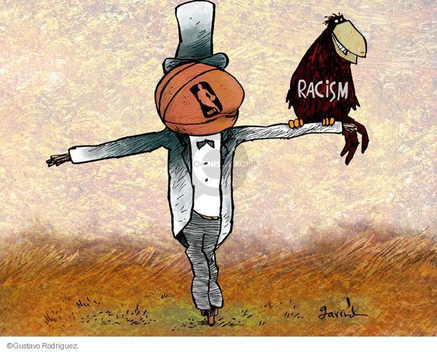 Gustavo Rodriguez  Garrincha's Editorial Cartoons 2014-04-29 racism
