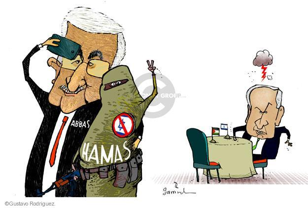 Gustavo Rodriguez  Garrincha's Editorial Cartoons 2014-04-30 peace