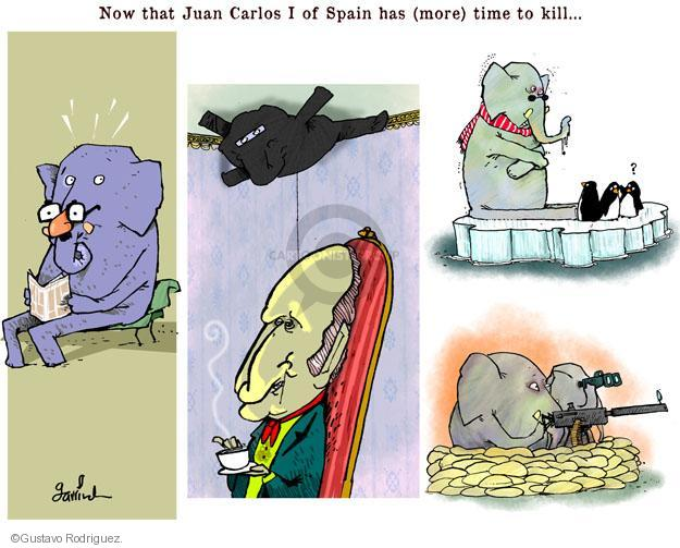 Gustavo Rodriguez  Garrincha's Editorial Cartoons 2014-06-03 Carlos
