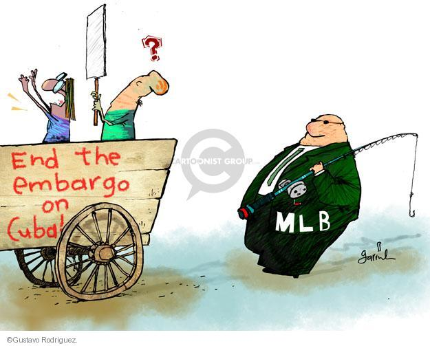 End the embargo on Cuba! MLB.